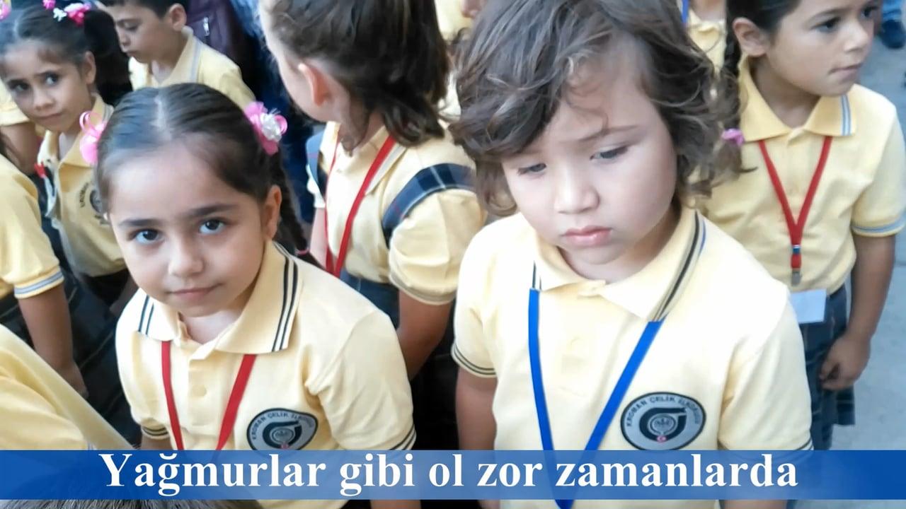 1-A Okulun İlk Günü